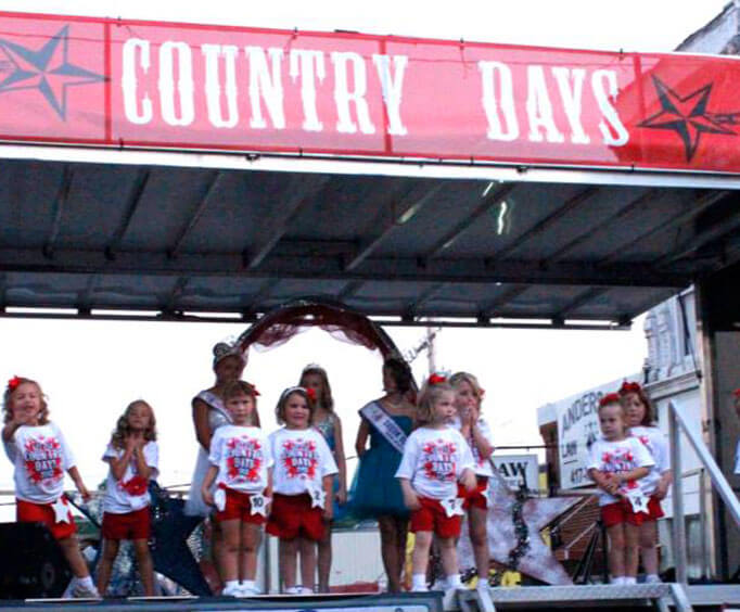 Country Days in Bolivar, kids pageant