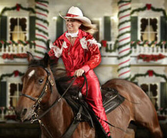 Dolly Parton's Dixie Stampede Christmas show