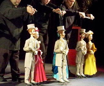 Puppet Shows - History of the Puppet, marionette
