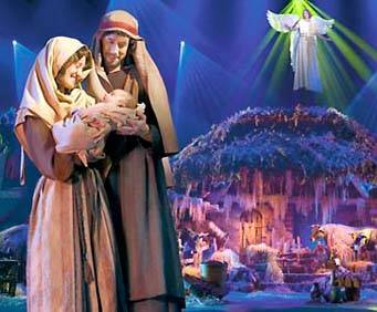 Sight and Sound Theatre in Branson: Joseph and Miracle of Christmas, nativity