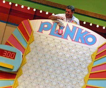 Plinko on the Price is Right