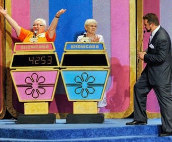 Contestants battle it out on the Price is Right live