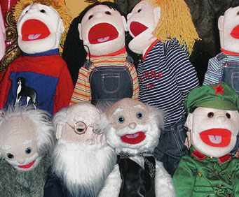 Puppet Shows - History of the Puppet, hand puppets