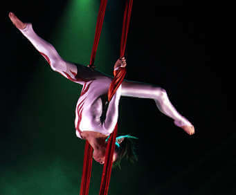 Fabulous Family Oriented Shows in Branson, MO, acrobatics