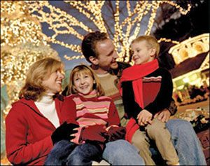 Silver Dollar City at Christmas