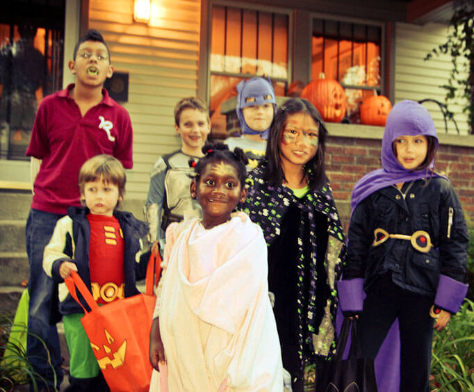 Halloween Activities in the Ozarks, trick-or-treat