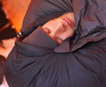 Camping during the cold weather months can be an amazing activity if you make the proper preparations.  When sleeping, make sure you are elevated off the ground, and keep your head covered at all times.
