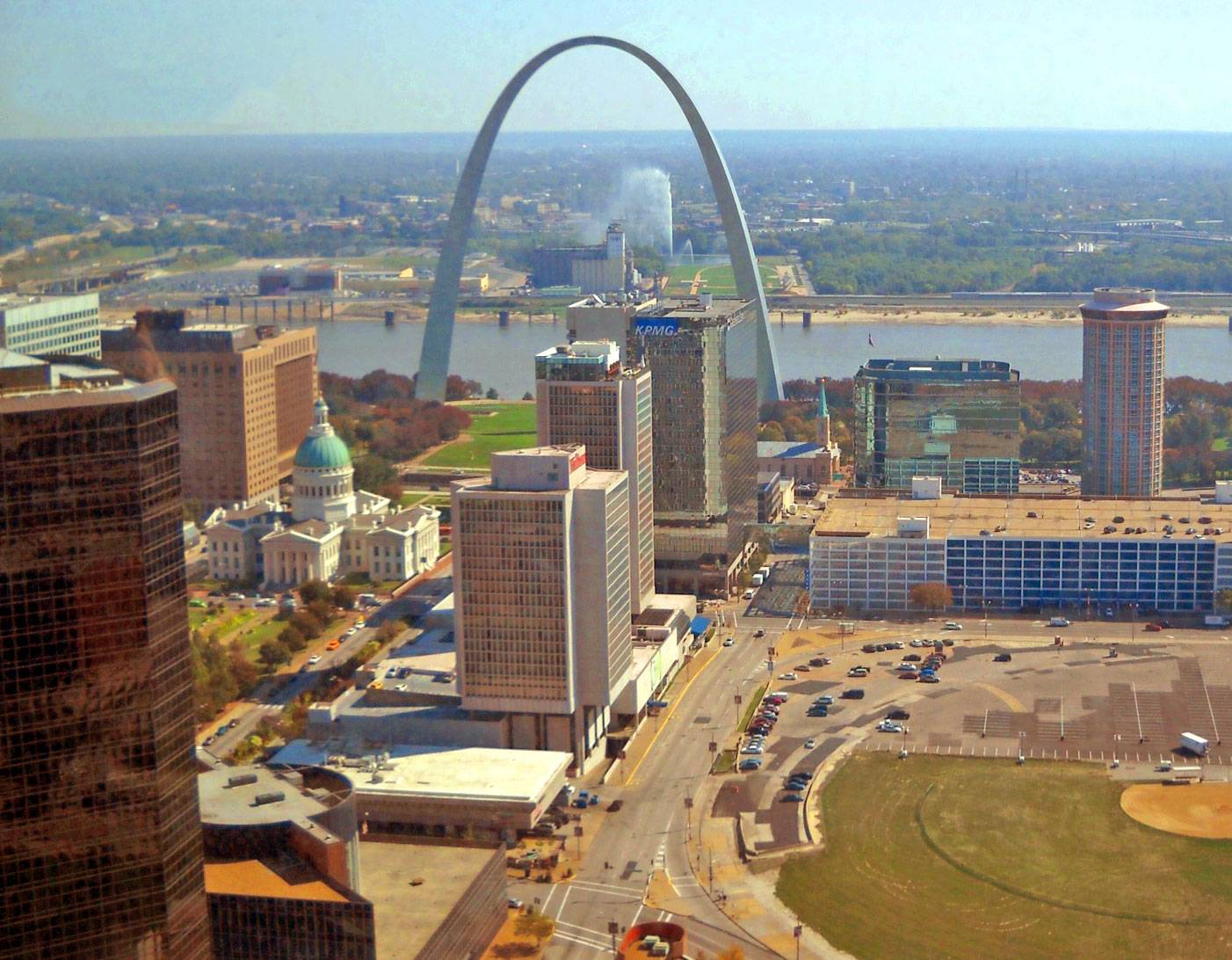 Missouri's Gateway to The West, St. Louis