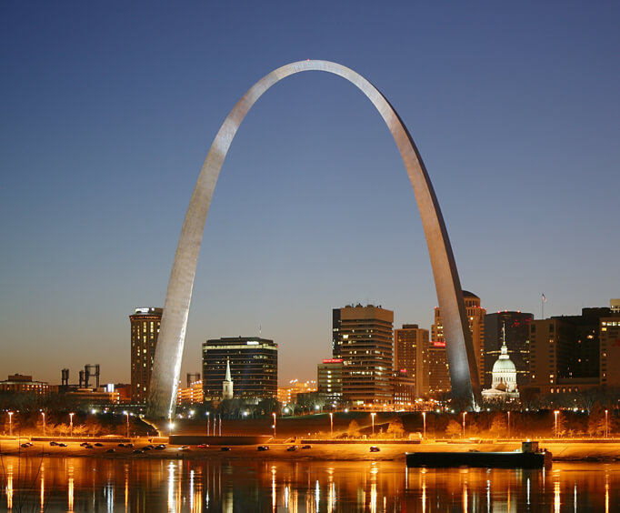 Missouri's Gateway to The West, St. Louis Arch