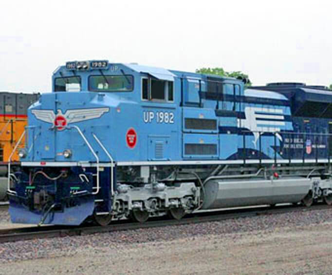 History of the Missouri Pacific Railroad, train engines