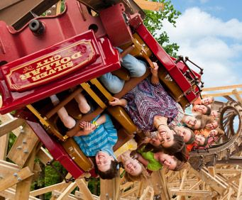 Branson - It's What to do in Missouri, Silver Dollar City