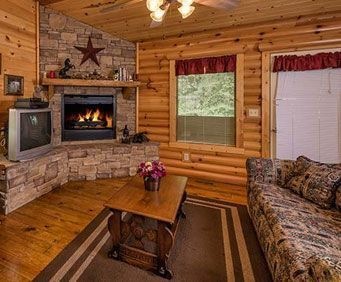 Spend a lavish vacation in a real Ozarks cabin with all the amenities of home.