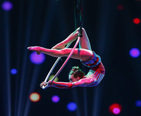 Amazing Acrobats Of Shanghai featuring Shanghai Circus Photo