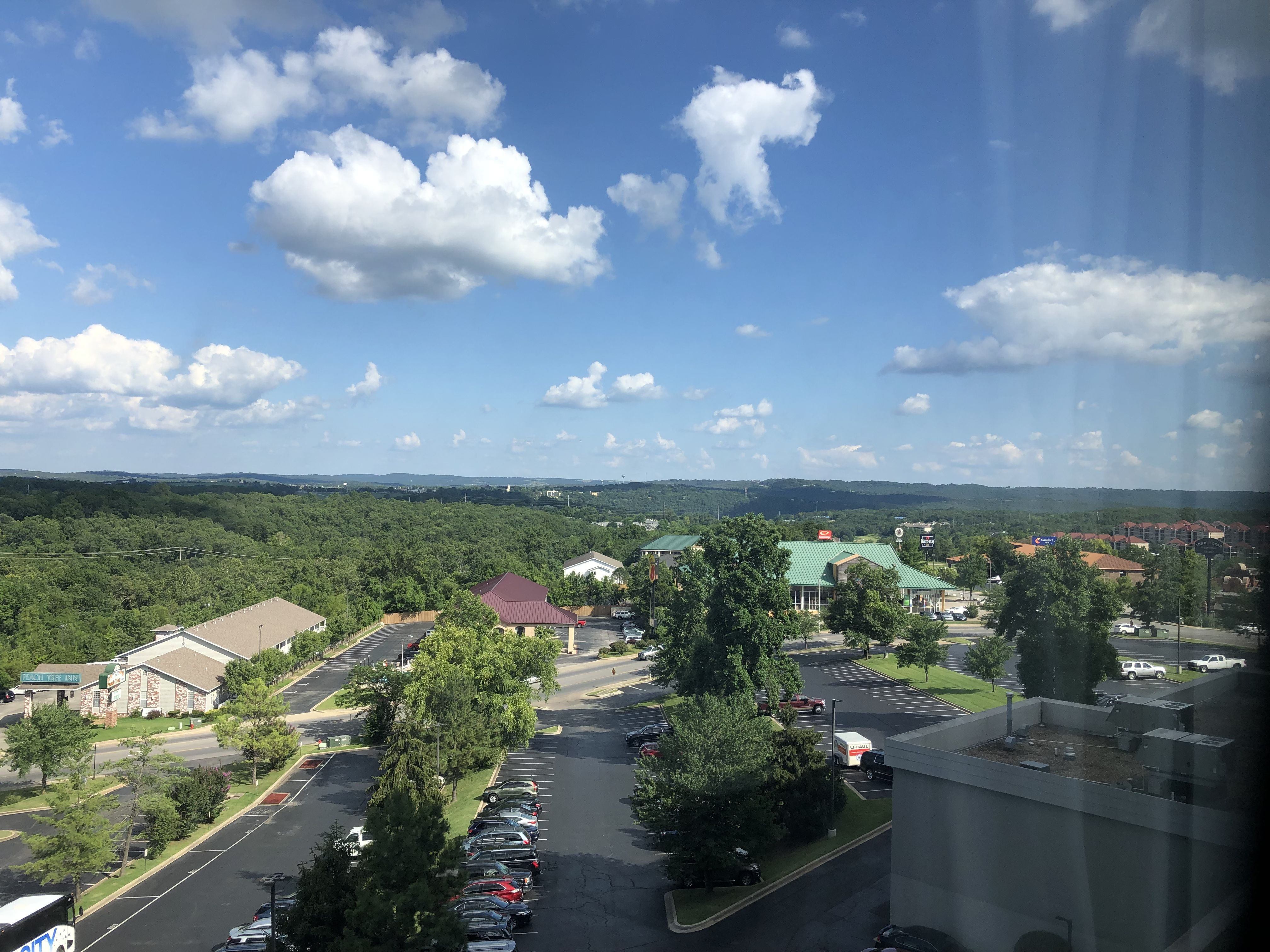 View from the Radisson Hotel Branson