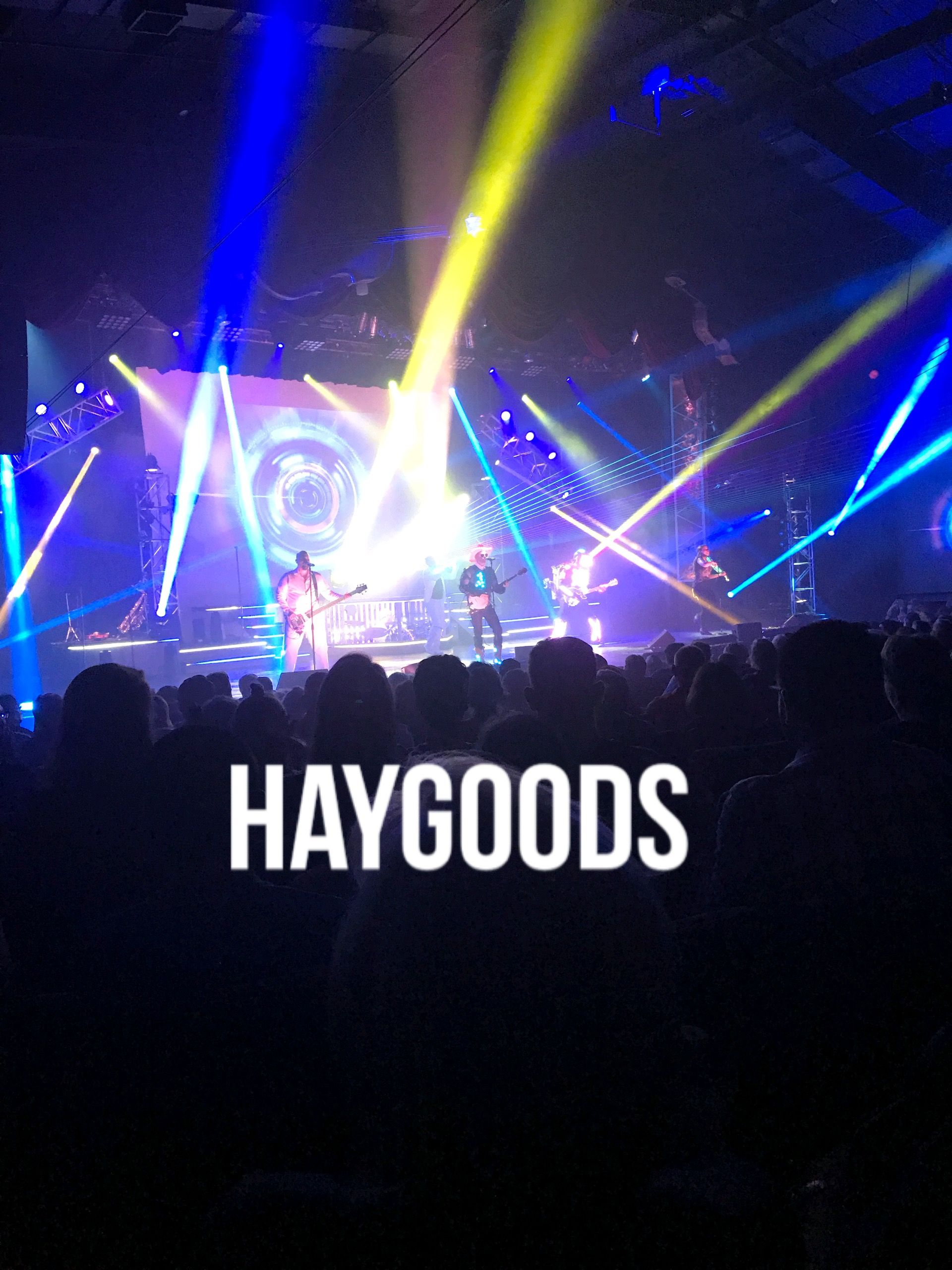 The Haygoods Perform with Lights