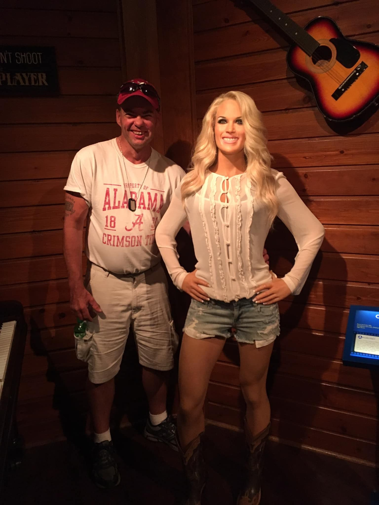 At the Hollywood Wax Museum near the Quality Inn Branson on the Strip