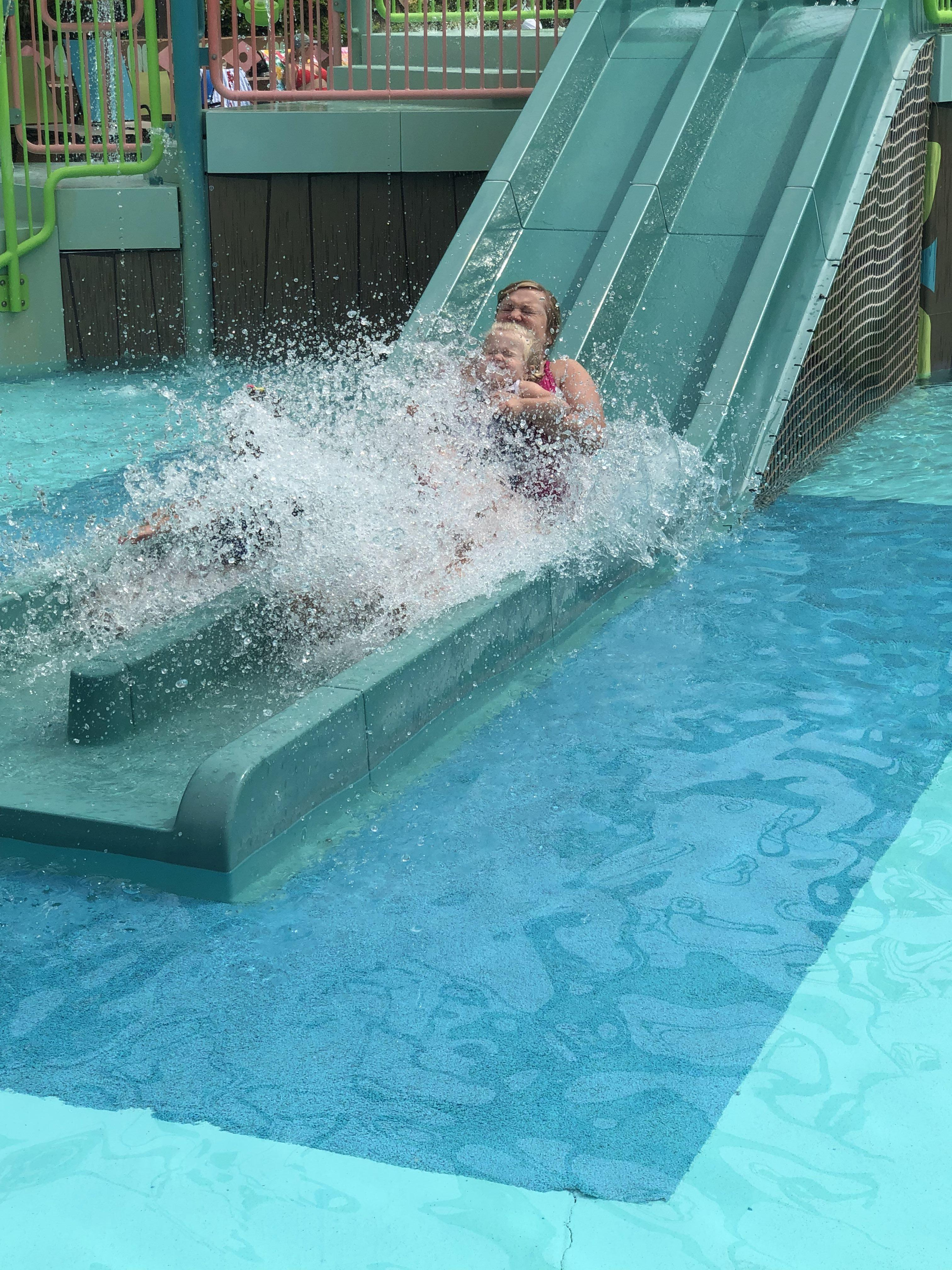 Small Slide at White Water Branson