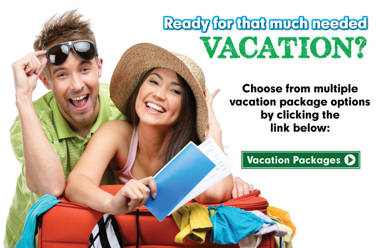 Ready for that much needed vacation?