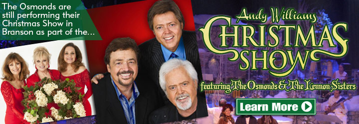 the osmond brothers have been thrilling packed houses across the world for over five decades and still continue to wow crowds with their warm tones and - Andy Williams Christmas Show
