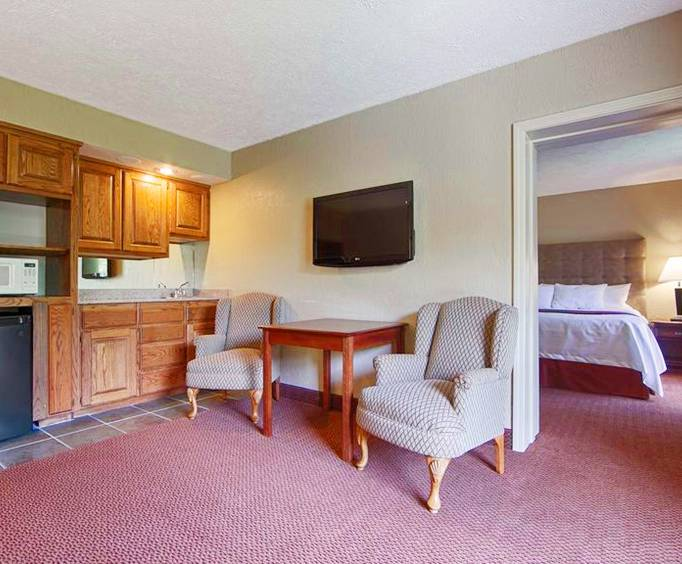 Photo of Best Western Branson Inn and Conference Center @ Silver Dollar City Kitchenette