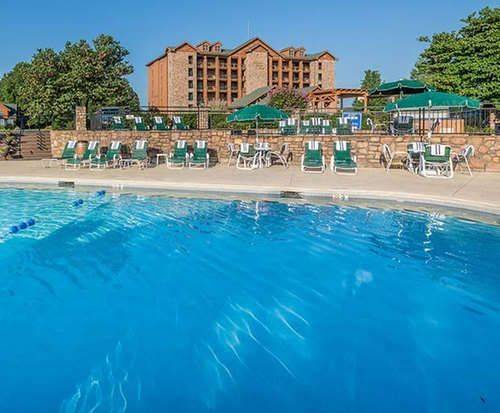 Outdoor Swimming Pool of Westgate Branson Woods Resort and Cabins