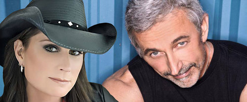 Terri Clark and Aaron Tippin