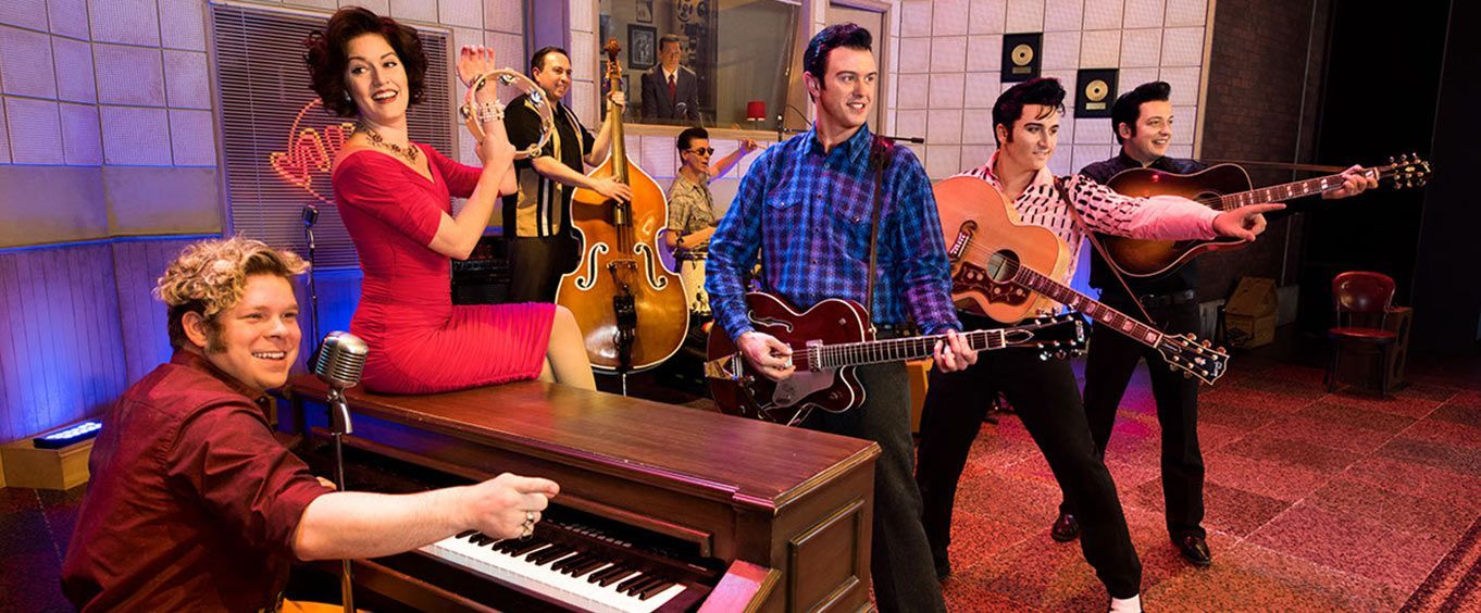 Performers of the Million Dollar Quartet