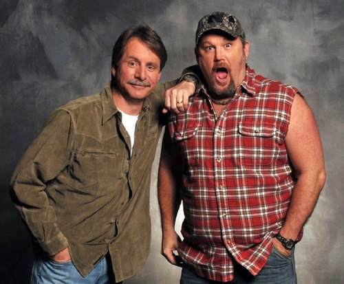 Jeff Foxworthy & Larry The Cable Guy, comedians