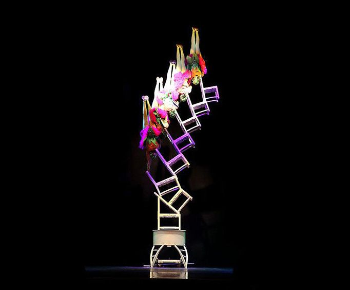 Incredible Acrobatics on Chairs at the Acrobats of China