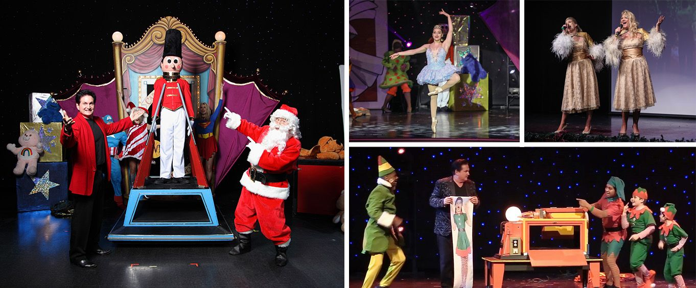 Hamners' Unbelievable Family Variety Shows Christmas Collage