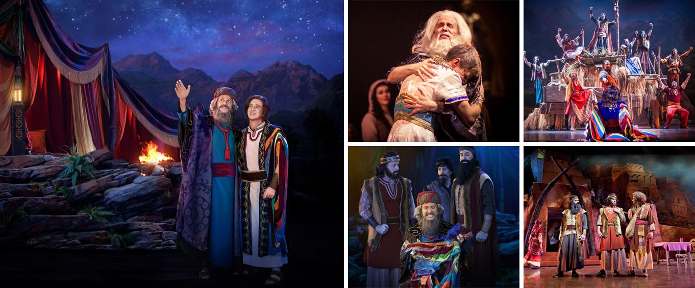 Joseph at Sight & Sound Theatres® Branson Collage